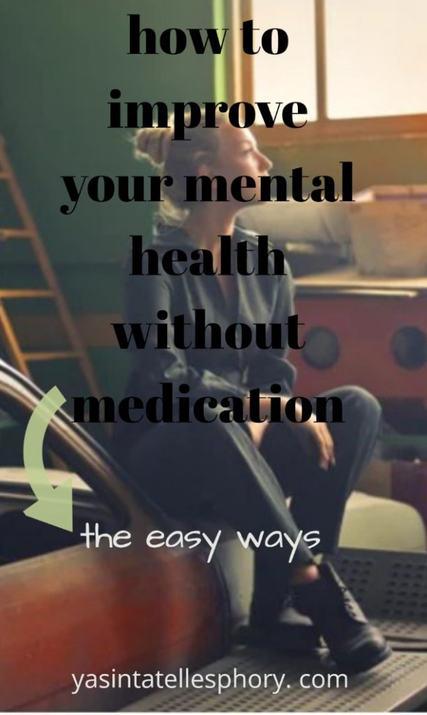 How to improve mental health without medication