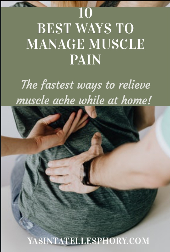 Best ways to relieve and reduce muscle ache