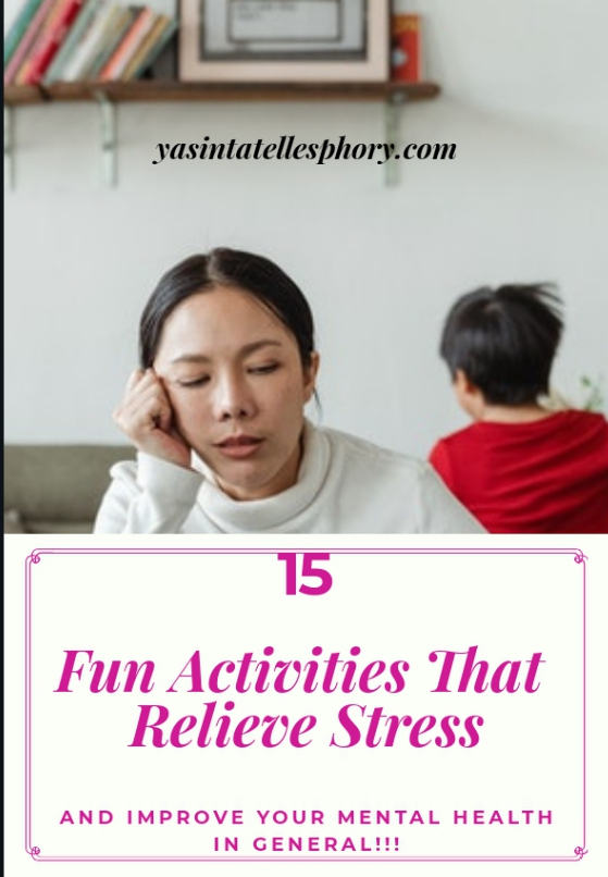 Activities to relieve stress