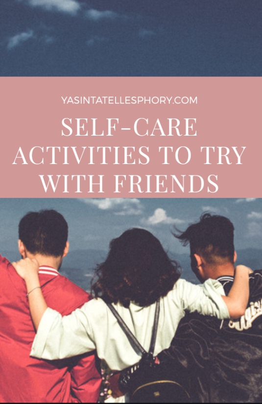 Self-care activities for groups