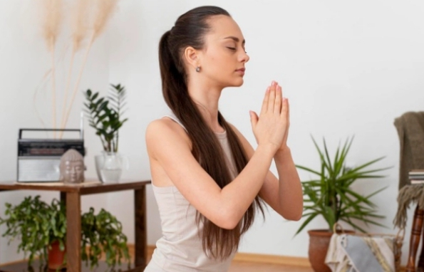 How to set up a meditation space at home